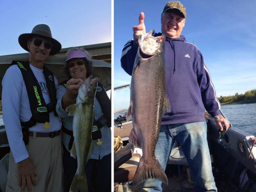 Chuck's Guide Services fishing on the Columbia River